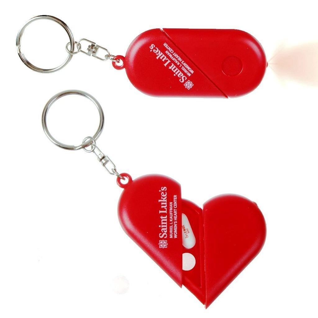 Heart Pill Box & Flashlight