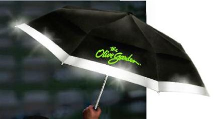 The Lifesaver Vented Reflective Folding Umbrella